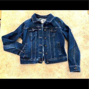 Old Navy dark jean jacket